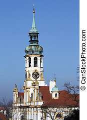 baroque pilgrimage church Loreta