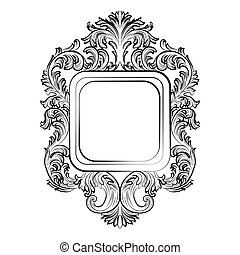 Baroque Rococo Exquisite Mirror frame