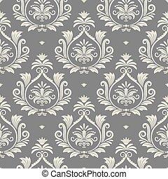 Baroque seamless vector background