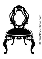 Baroque style chair