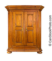 baroque wooden cabinet
