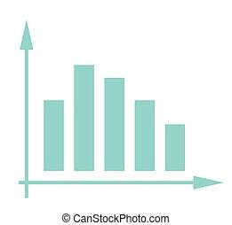 barra, empresa / negocio, system., gráfico, volátil, ...