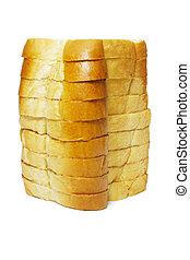 barra, slided, bread