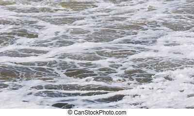 barrage eau, river., dumps