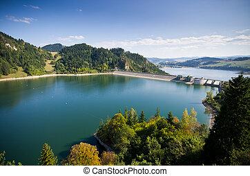 barrage, lac