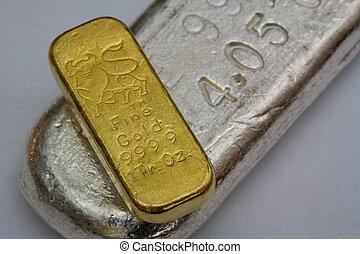 barre, canutiglia, argento, oro