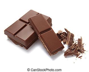 barre chocolat, doux, desseret, sucre, nourriture