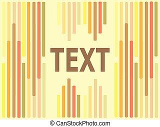 barre, colorato, luce, sfondo giallo, testo, stanza