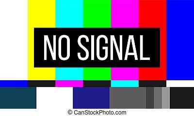 barre, concetto, colore arte, astratto, design., no, tv, modello, creativo, smpte, fondo., prova, schermo, illustrazione, televisione, grafico, tecnico, segnale, problems., elemento, vettore, error.