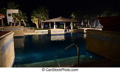 barre, piscine, natation