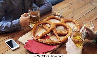 barre, pub, bière, boire, mâle, amis, ou