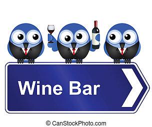 barre vin