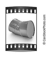 barrel., 曲がった, フィルムの ストリップ