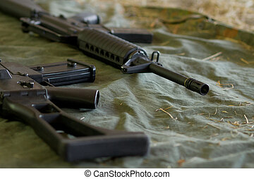 Barrel of an automatic rifle