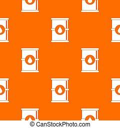 Barrel of oil pattern seamless