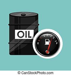 barrel oil concept industry automotive