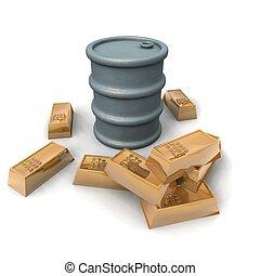 barrel oil increase