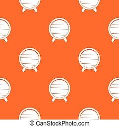 Barrel on legs pattern seamless - Barrel on legs pattern...