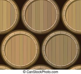 barrel stand seamless background