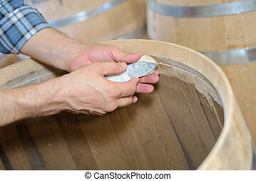 barrels all around