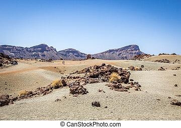 Barren land in Tenerife
