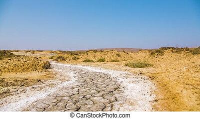 Barren Landscape in Crimea