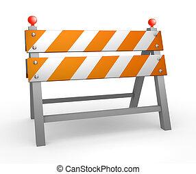 barrera del camino