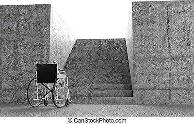 barreras, arquitectónico
