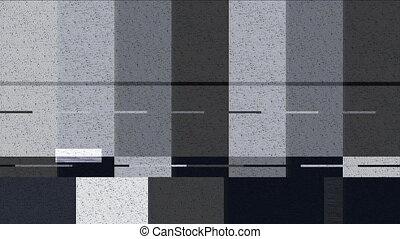 barres couleur, déformé