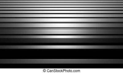 barres, render, aluminium, illustration, résumé, briller, informatique, raie, fond, horizontal, argent, 3d