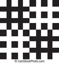 barrière, résumé, pseudo, élément, fond, labirinth, carrés