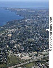Barrie Ontario, aerial
