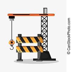 Barrier of under construction design