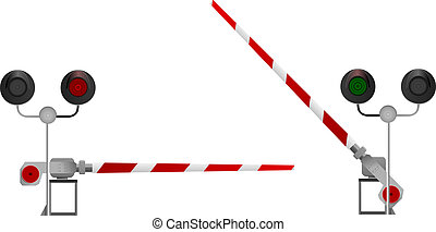 barrier. vector