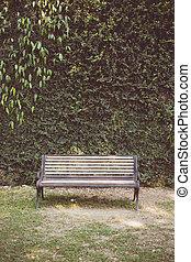 barriere, vendemmia, tono, panca giardino