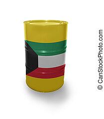 barril, bandeira