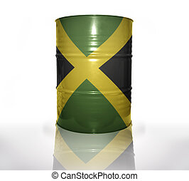 barril, bandeira jamaicana