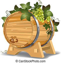 barril del vino