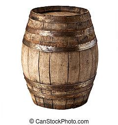 barril, madera
