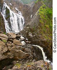 Barron Falls - Queensland, Australia - Barron Falls in...