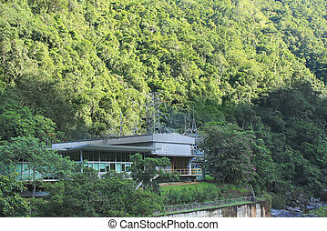 Barron Gorge Hydroelectricity Station near Cairns Australia it is Australia's first underground power station