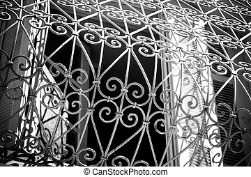bars on the window Tunis