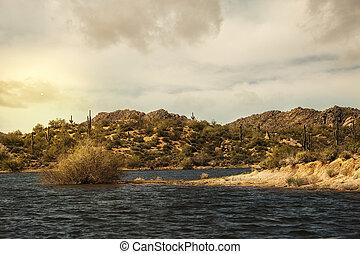 Bartlett Lake in Carefree Arizona