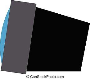 barva, lehký, fotografování, ohnisko, ilustrace, vektor, portrét, nebo