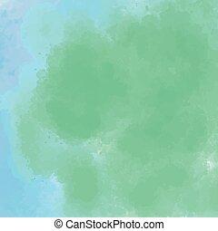 barva vodová, grafické pozadí, illusration