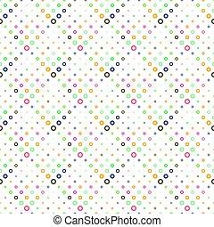 barvitý, geometrický, kroužek, design, seamless, model, grafické pozadí