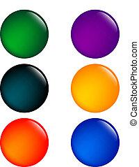 barvitý, hotelový poslíček, -, vektor