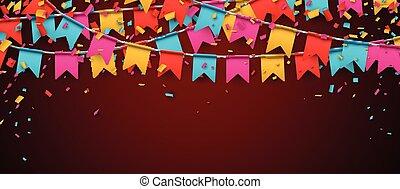barwa, flags., chorągiew