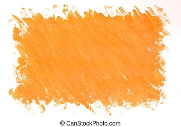 barwiony, pomarańczowe tło