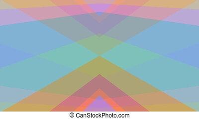 barwny, abstrakcyjny, pastel, kalejdoskopowy, video, ...